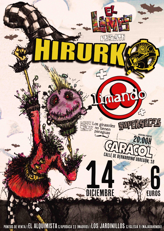 HIRURKO-LIMANDO en el Limbo BAJAq
