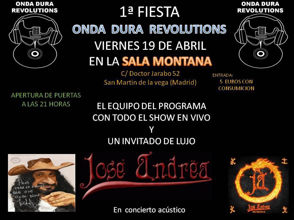 FIESTA O.D.R EN LA SALA MONTANA Acustico de JOSE ANDREA